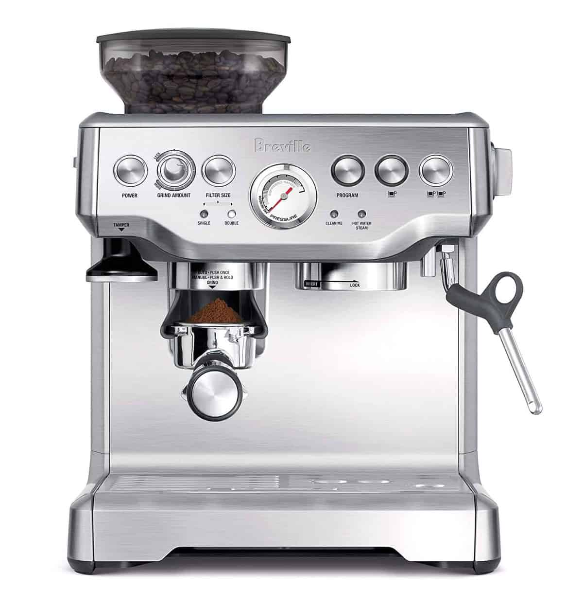 Breville BES870XL Barista Express Espresso Machine - perfect give for dad