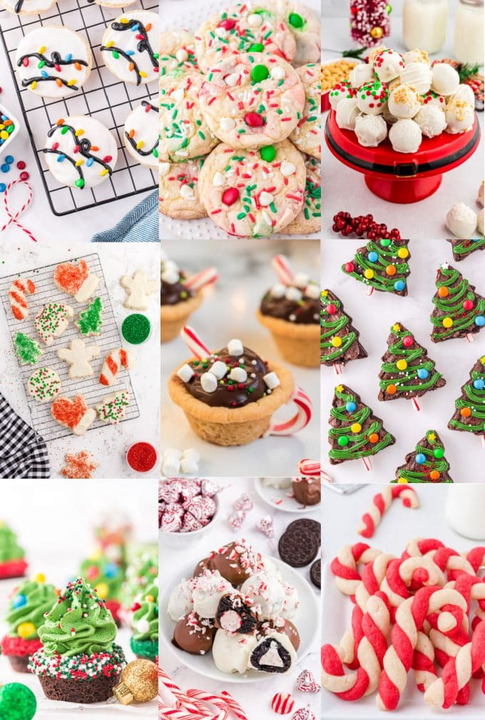Christmas Cookies collage