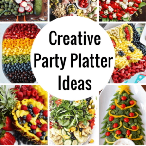 The COOLEST Party Platter Ideas! Veggie trays & Fruit Trays Gone WILD!