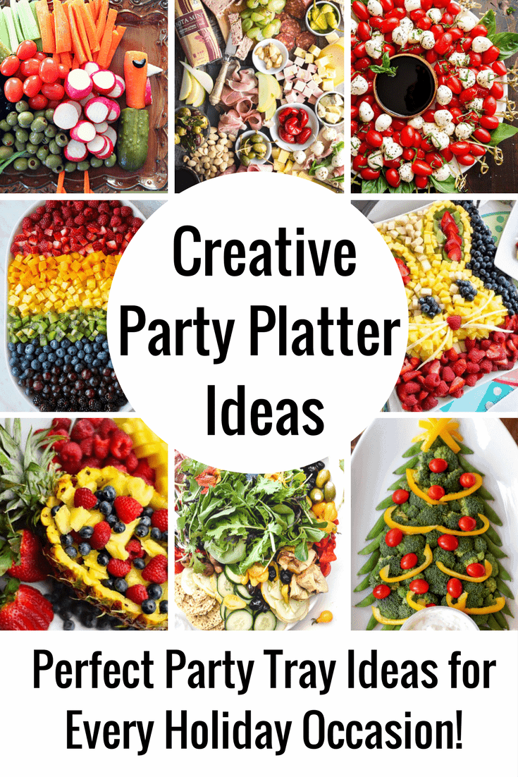Christmas Platters And Trays.The Coolest Party Platter Ideas Veggie Trays Fruit Trays