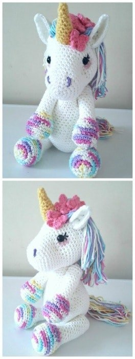 Crochet Unicorn and other amazing crochet ideas