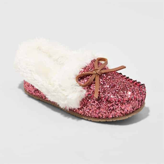 Great gift ideas for girls - Glitter shoes!