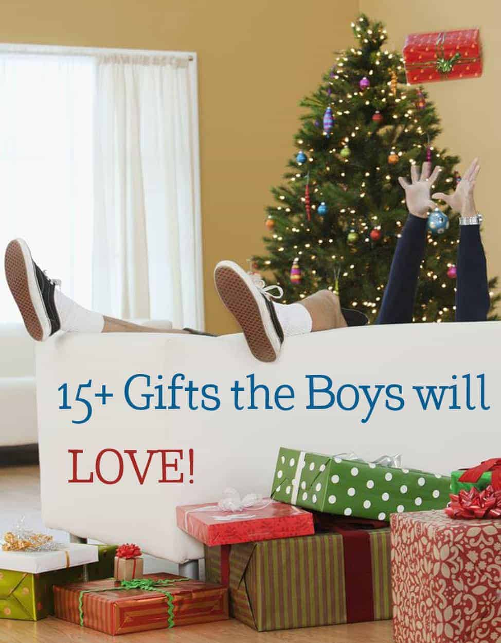Great Gifts for Boys! Whether you need a birthday gift or holiday gift for the boy(s) in your life, these ideas will help!