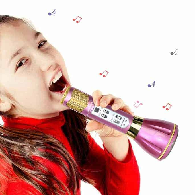 Great gift ideas for girls - wireless microphone!