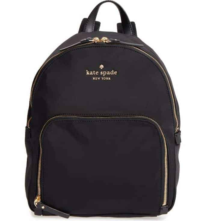 Kate Spade Nylon Backpack makes the perfect gift for teen girls!