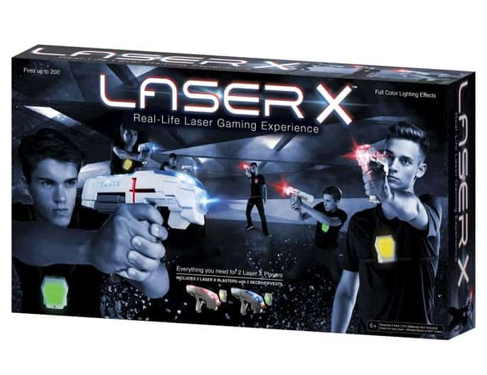 Laser tag makes a great gift for teens