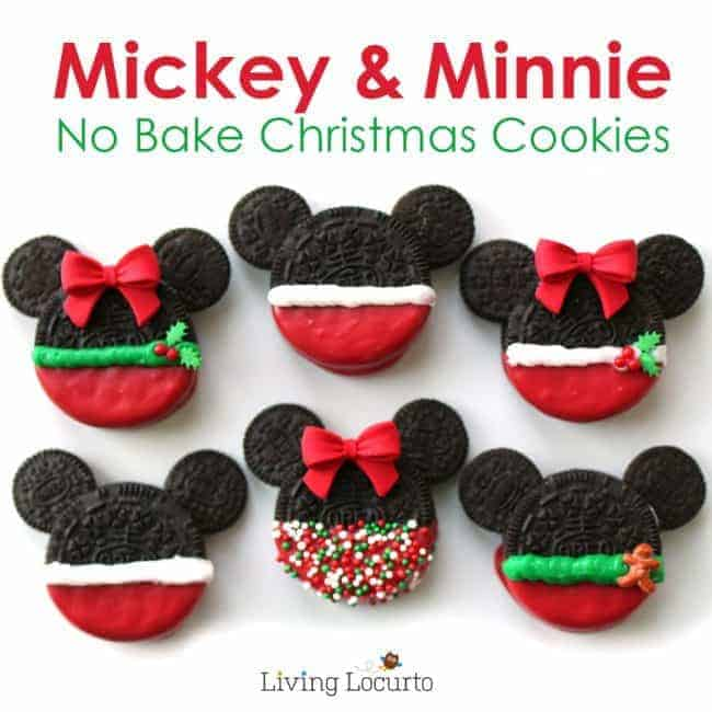 Mickey and Minnie Christmas Cookies by Living Locurto | The Best Ever Christmas Cookies | Dozens and dozens of delicious Christmas Cookie Recipe ideas!