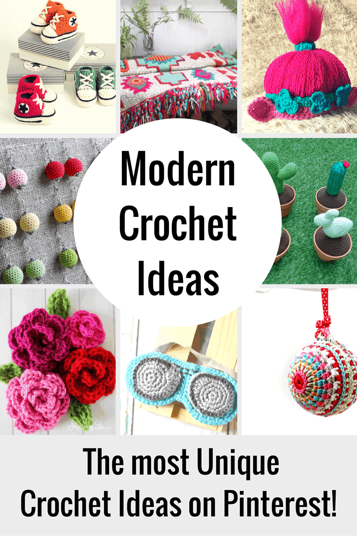 These unique crochet ideas are for beginners, intermediate and experts. Crochet something for a gift or crochet to sell! Whatever you do, check out these adorable crochet patterns and ideas!