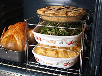 Multilayer Oven Rack and other great Thanksgiving Hacks and Kitchen Tools