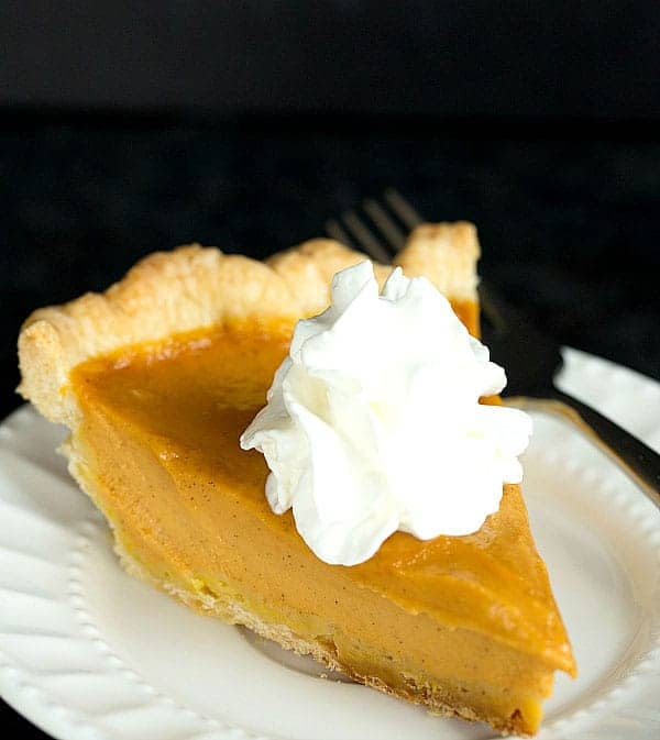 The Best Pumpkin Pie by Brown Eyed Baker and other easy Thanksgiving dessert recipes
