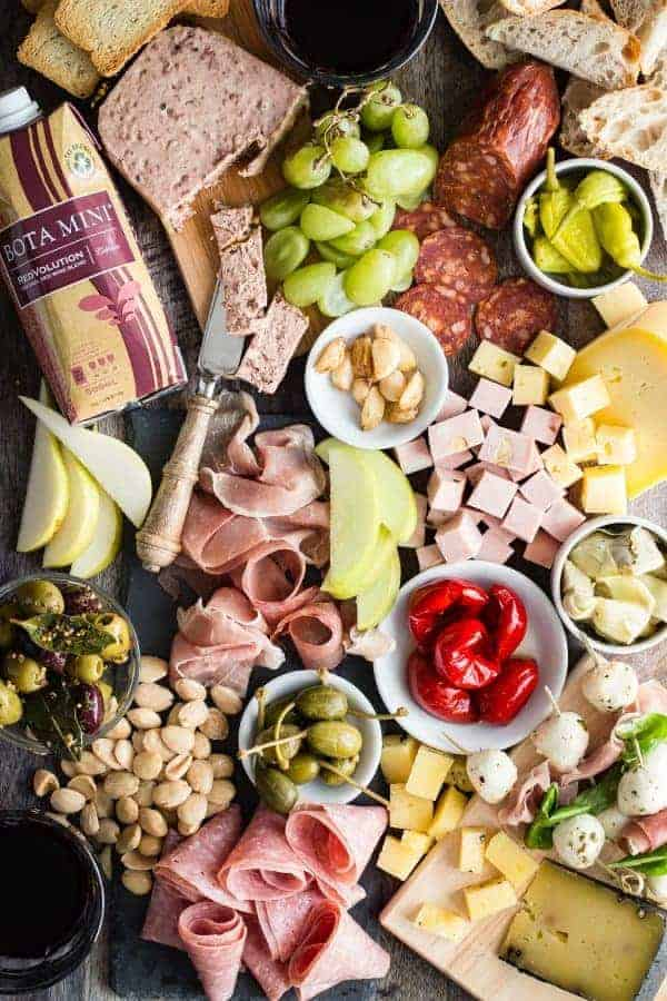 The Ultimate Charcuterie Platter by Foodness Gracious and other great party tray ideas
