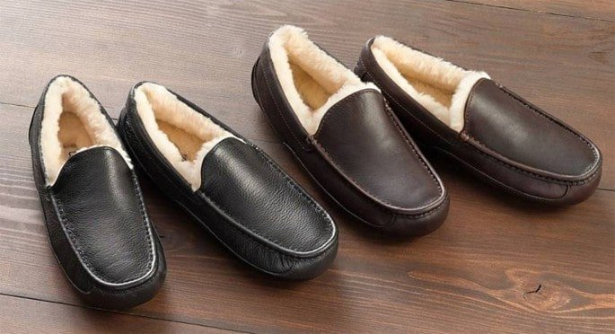 UGG slippers are the ultimate luxury gift for dad
