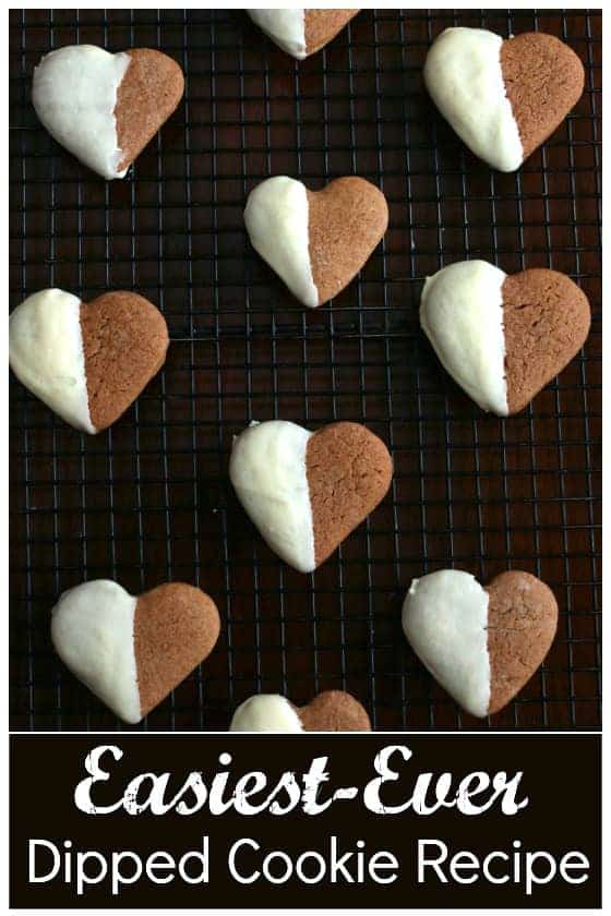 White Chocolate Dipped Gingerbread Cookies by Happy Hooligans   The Best Ever Christmas Cookies   Dozens and dozens of delicious Christmas Cookie Recipe ideas!