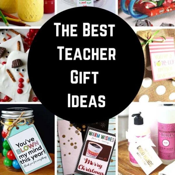 The best teacher gift ideas for Christmas gifts, back to school gifts and the absolute best teacher appreciation gift ideas!