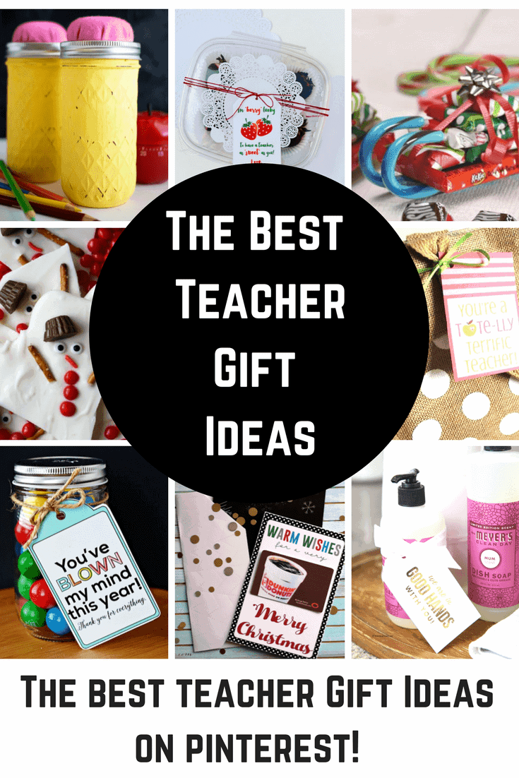 End of year teacher gift ideas from class pinterest christmas