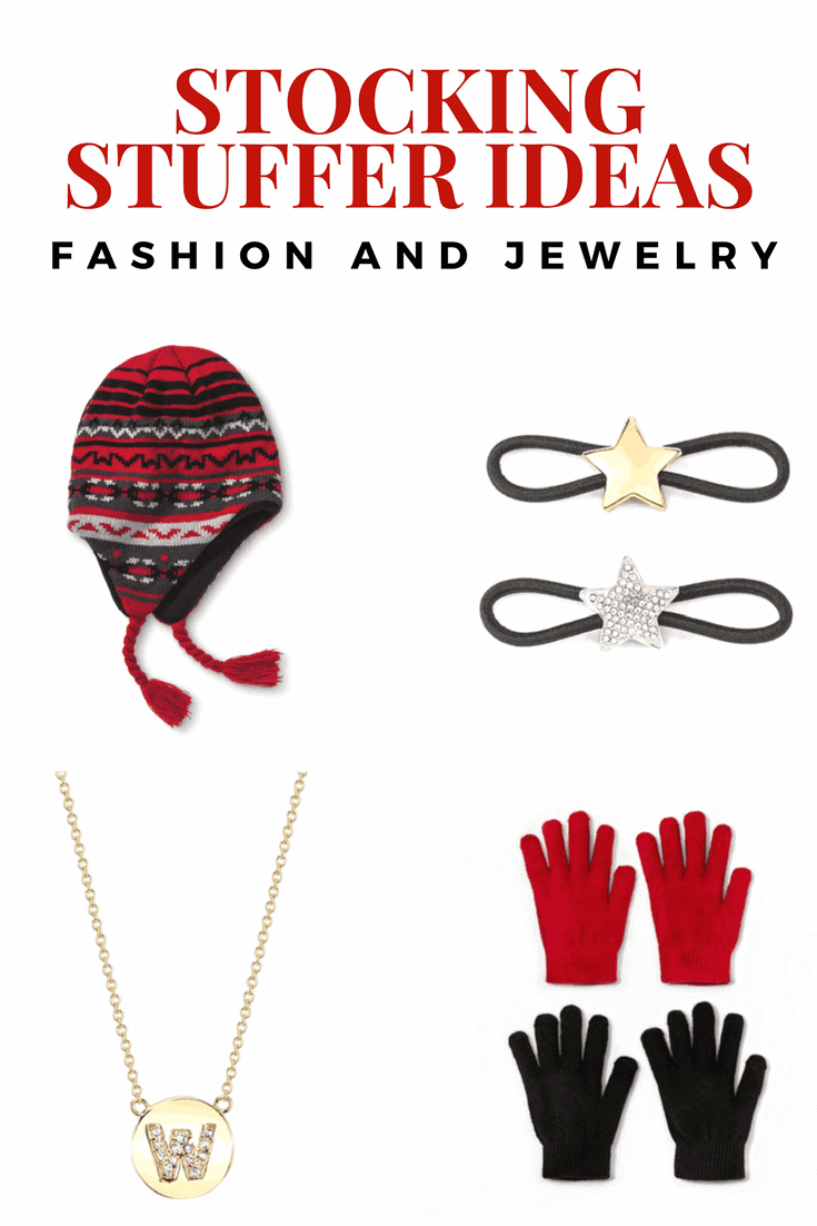 These ideas for fashion and jewelry are just the thing for stocking stuffers this year for you teen, tween or friend!