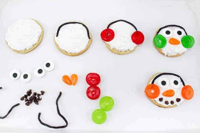 How to make Snowman Sugar Cookies copy