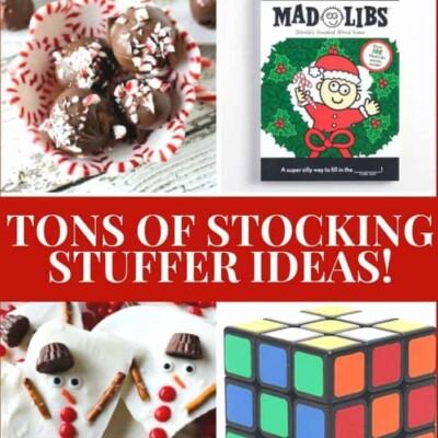 The BEST Stocking Stuffers – A Massive List of Stocking Stuffer Ideas!