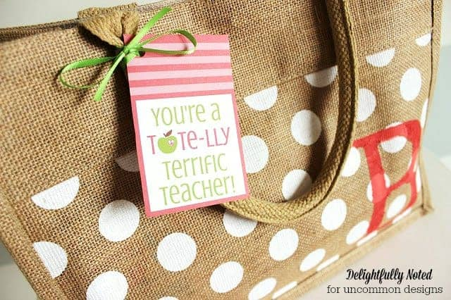 Tote Teacher Gift by Uncommon Designs and other great Teacher gift ideas!