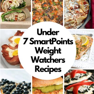 The BEST Weight Watchers Recipes Under 7 SmartPoints