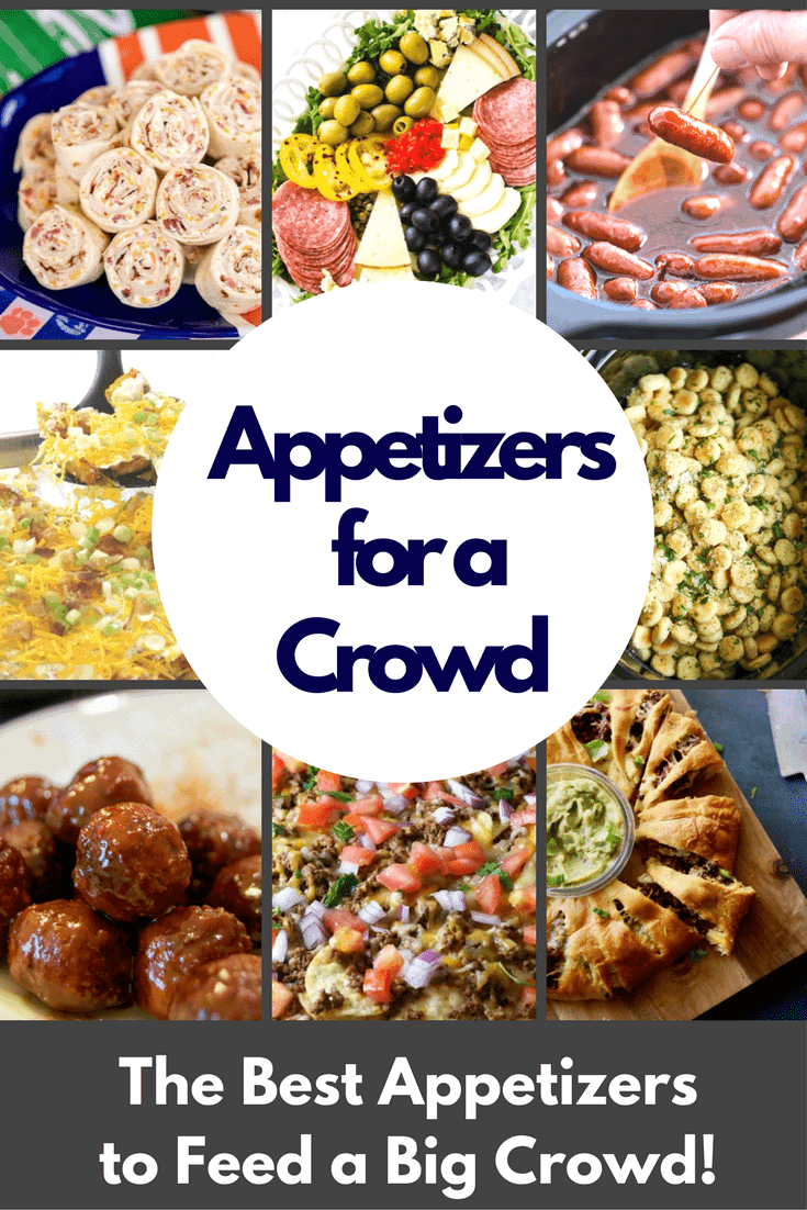 The BEST Appetizers For A Crowd