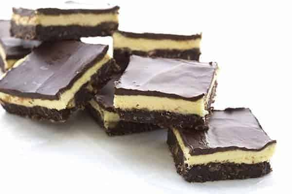 Low Carb Nanaimo Bars by All Day I Dream About Food | The best healthy recipe ideas that everyone will love!