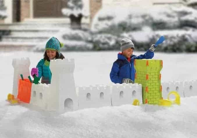Snow fort building block