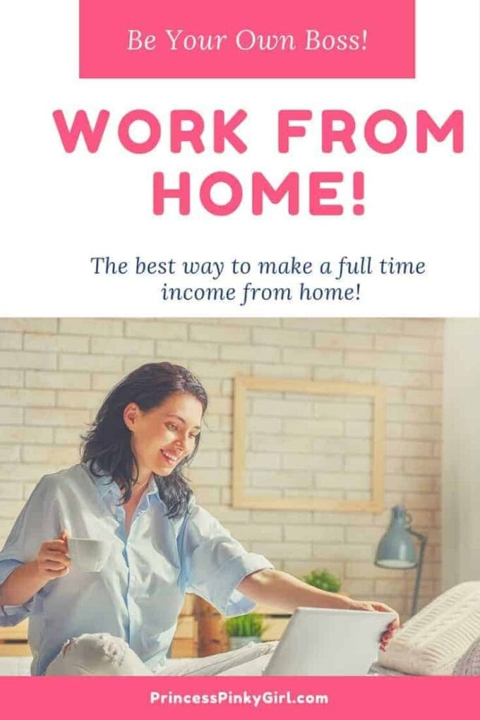 Work from home today - be your own boss