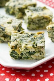 Spinach and Artichoke Bites bite size appetizer