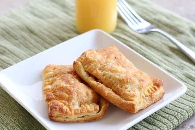 Air Fryer Breakfast Pockets by Ginger Casa