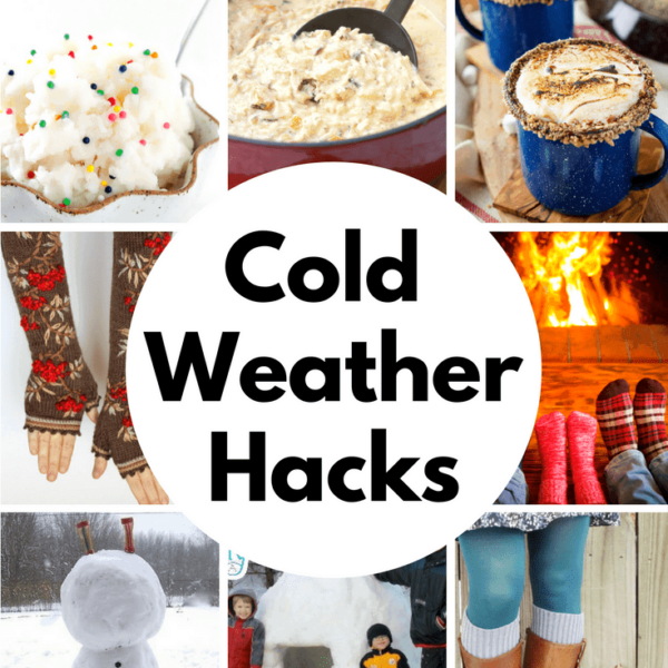 Cold Weather Hacks | So many great ideas to stay warm and survive winter!