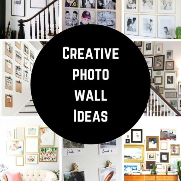 Creative Photo Gallery Wall Ideas