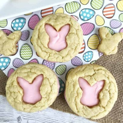Easter Bunny Cut Out Cookies