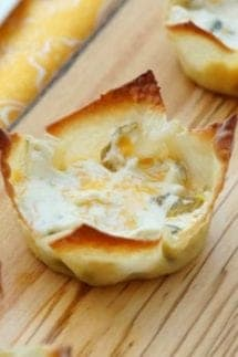 Jalapeno Popper Wonton Cups featured image