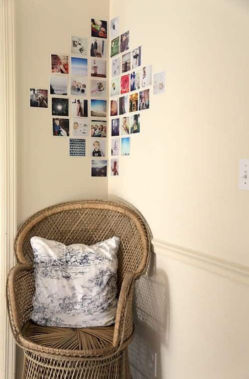 Wall Art by Design Mom | Creative Ideas for Photo Walls