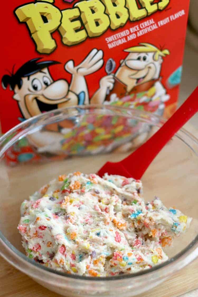 How to make Fruity Pebbles Cookie Cheesecake Bars