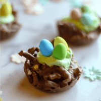 Chocolate Easter Nests featured square image