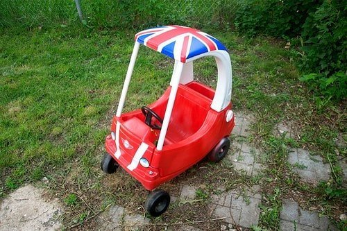 Cozy Cooper by Go Team Wood | Adorable Cozy Coupe Ideas!