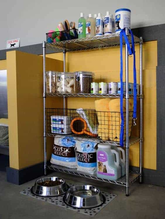 Dog Garage Organization via HGTV | Dog Hacks to save your sanity!