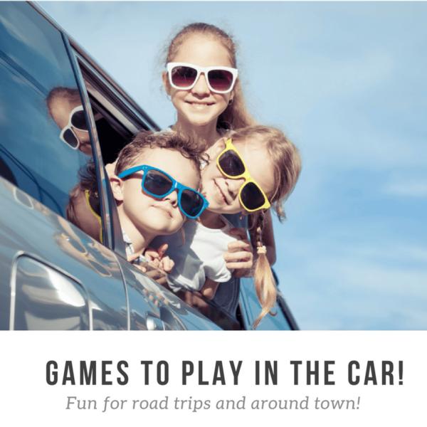 Car Games! Super Fun Games to Play on a Road Trip