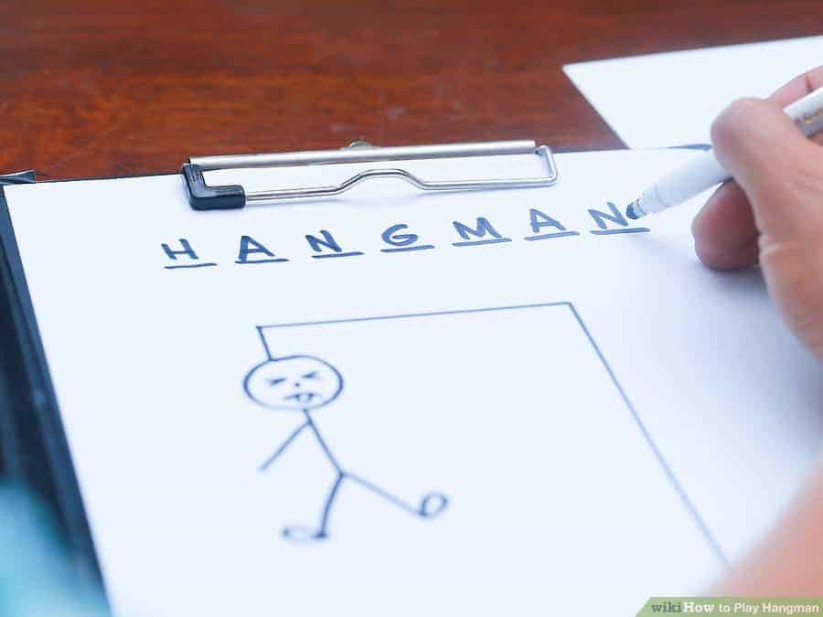 Hangman via Wiki How |Fun Games to Play in the Car | Travel Games that are fun for the entire family!