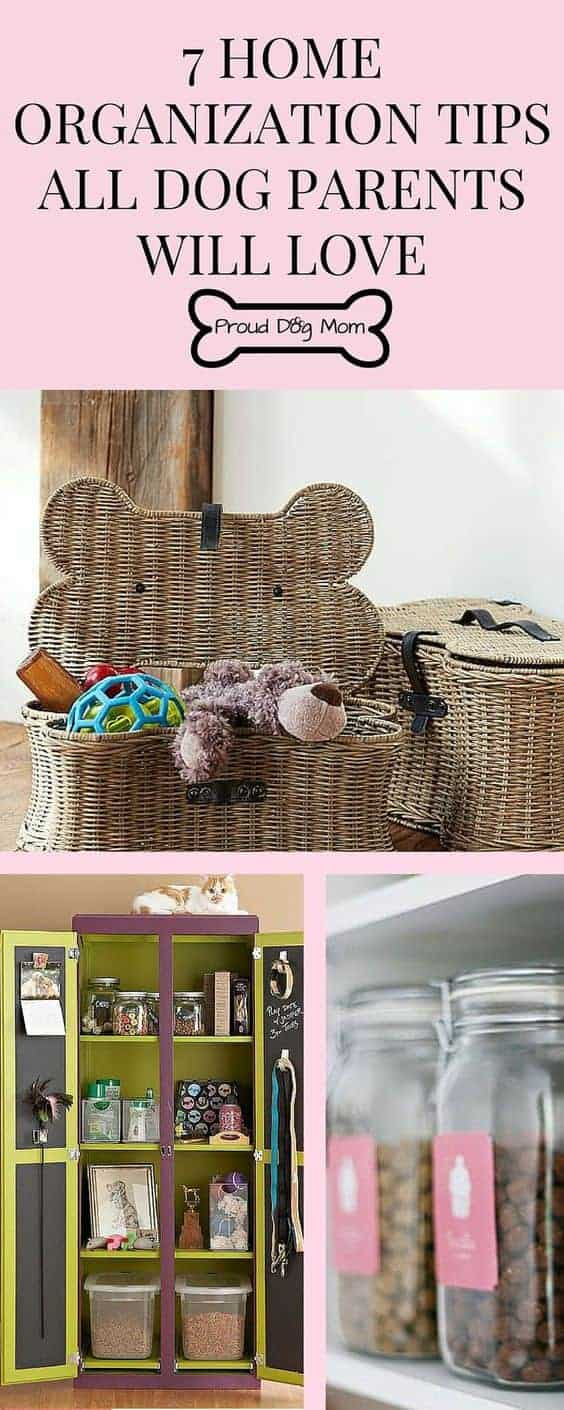Home Organization TIps All Dog Parents will Hi by Proud Dog Mom | Dog Hacks for everyone!