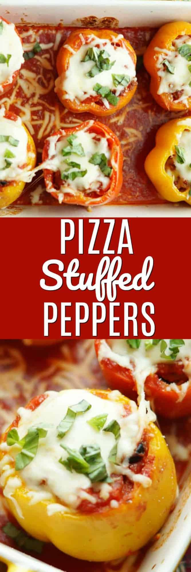 Supreme Pizza Stuffed Peppers have all the flavors of a supreme pizza, made healthier then stuffed into pepper form! This delicious take on the traditional stuffed pepper will have your entire family cleaning their plates!