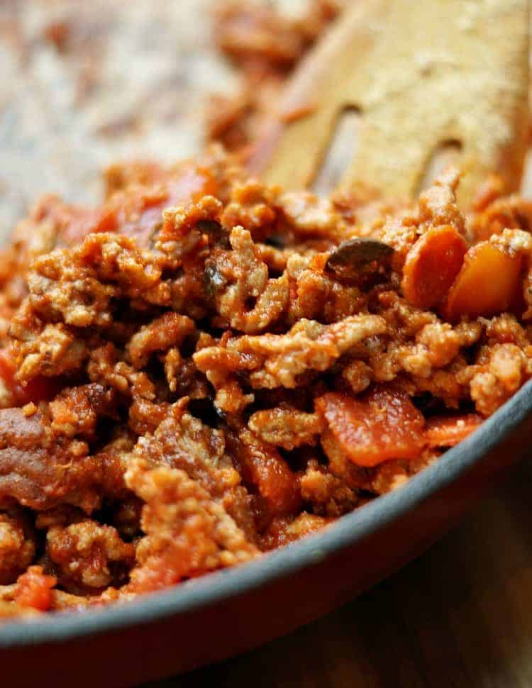 Ground beef for your stuffed peppers