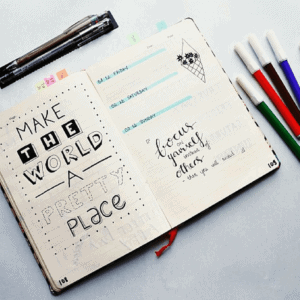 Everything You Want to Know About a Bullet Journal