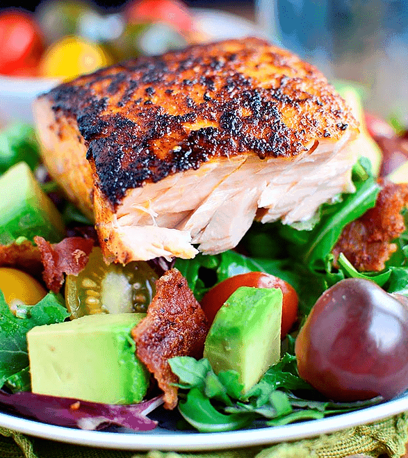 BBQ Salmon by The Dash Diet Collection | Tips Tricks and Recipes for the DASH Diet