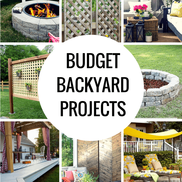 Budget DIY Backyard Projects To Do This Weekend