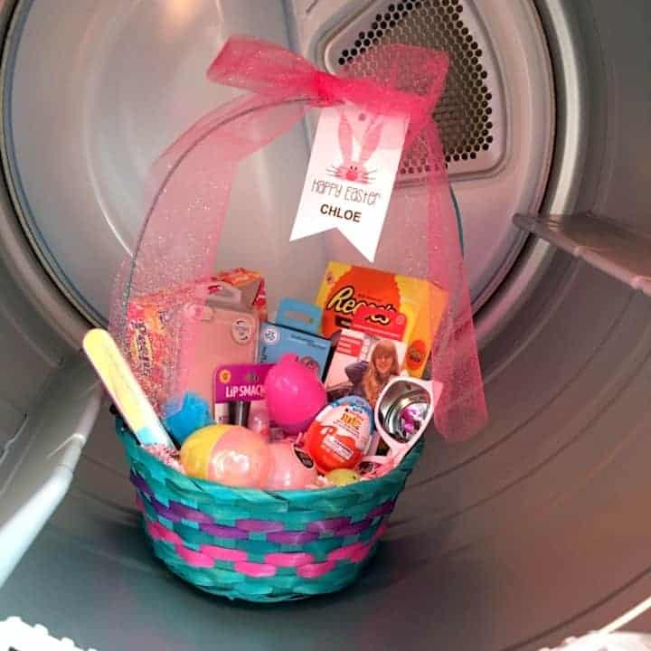 Cute easter basket hiding places