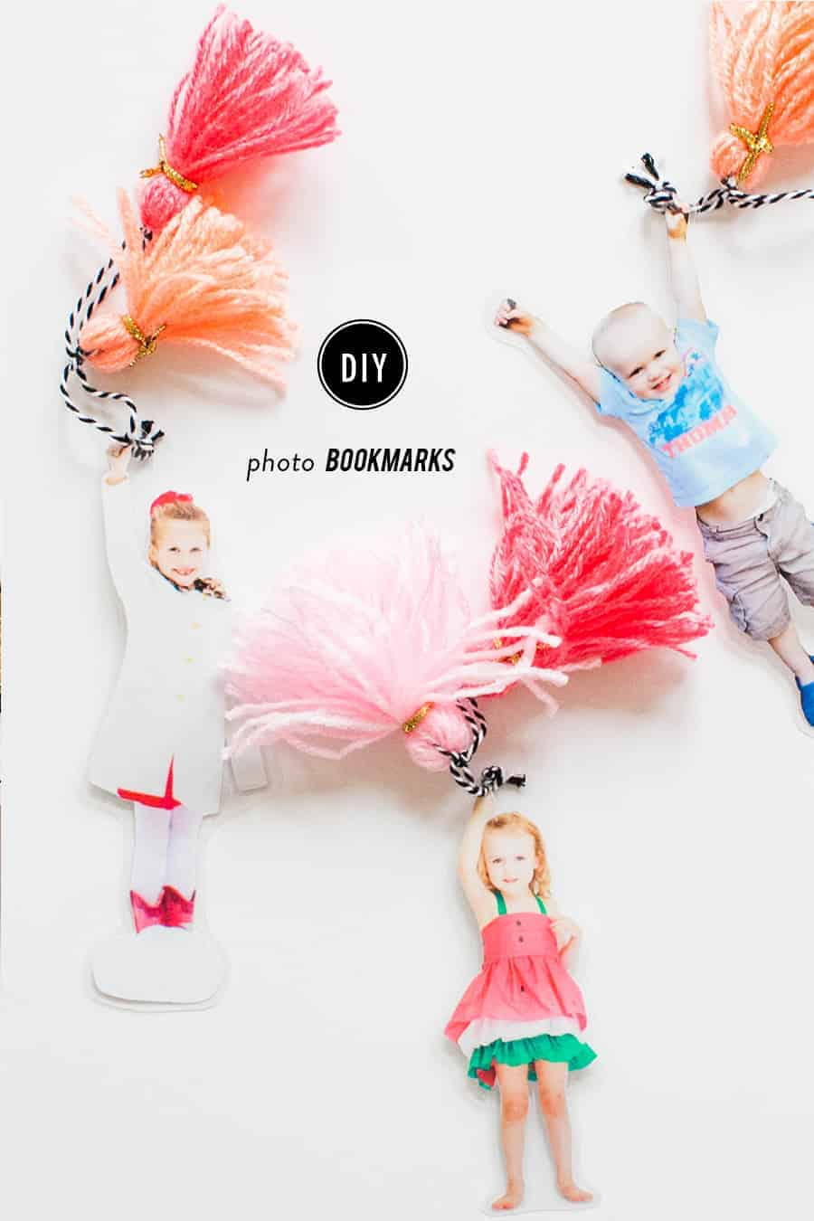 DIY Photo Bookmarks by Style Me Pretty | Fabulous Mother's Day Gift Ideas