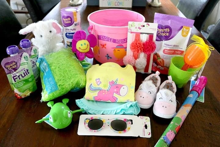 Easter basket for baby produtss
